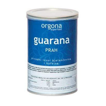 BIO Guarana prah Orgona Superfood 100g