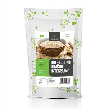 BIO heljdino brašno integralno Green Planet Superfoods 1kg - Alternativa Webshop