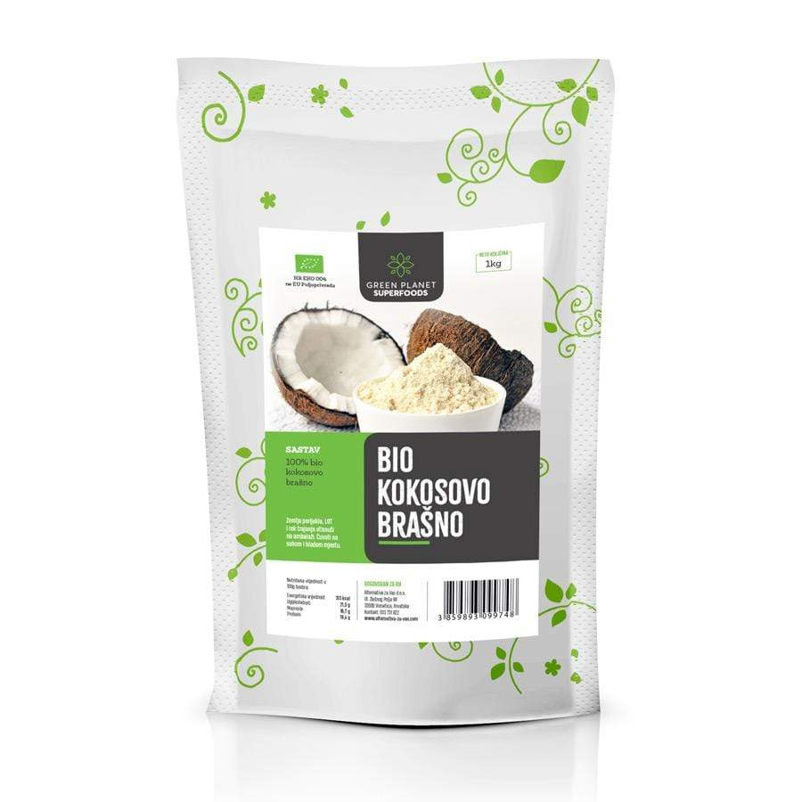 BIO Kokosovo brašno Green Planet Superfoods 1kg - Alternativa Webshop