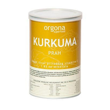 BIO Kurkuma Orgona Superfood 150g