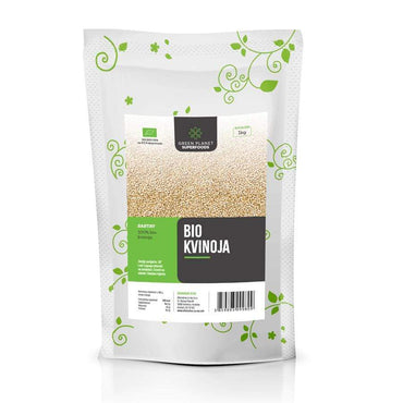 BIO Kvinoja Green planet superfoods 1kg - Alternativa Webshop