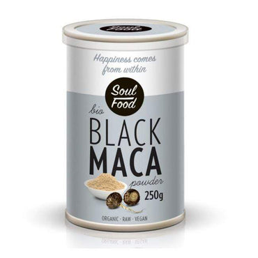 BIO Maca crna Soul Food 250g - Alternativa Webshop