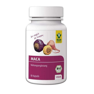BIO maca kapsule Raab 80 kom - Alternativa Webshop