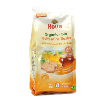 BIO Mini dvopek za bebe s medom Holle 100g - Alternativa Webshop