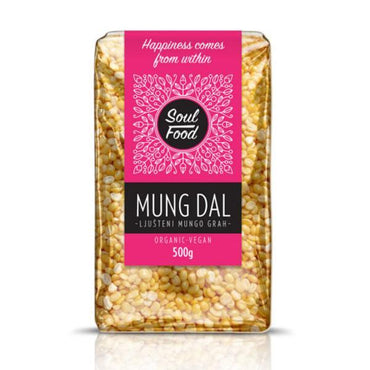 BIO Mung Dal žuti Soul Food 500g - Alternativa Webshop
