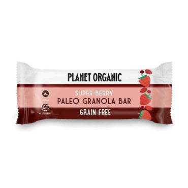 "BIO Paleo granola bar ""Super-bobice"" Planet Organic 30g - Alternativa Webshop"