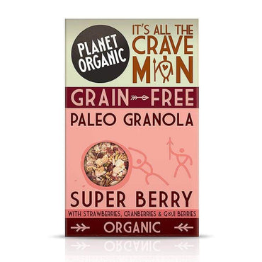 "BIO Paleo granola ""Super-bobice"" Planet Organic 350g - Alternativa Webshop"