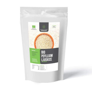 BIO Psyllium ljuskice Green Planet Superfoods 250g - Alternativa Webshop