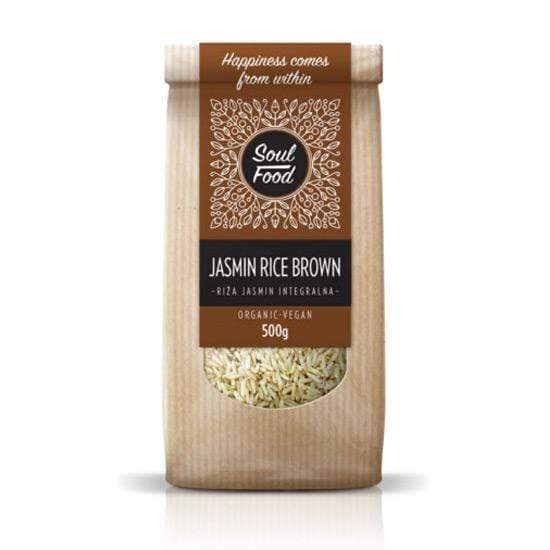 BIO Riža jasmin Soul Food 500g - Alternativa Webshop
