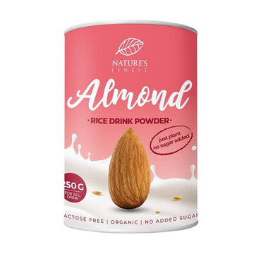 BIO Rižin napitak u prahu s bademom Nature's Finest 250g - Alternativa Webshop