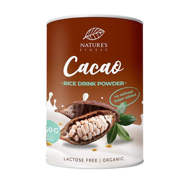 BIO Rižin napitak u prahu s kakaom Nature's Finest 250g - Alternativa Webshop