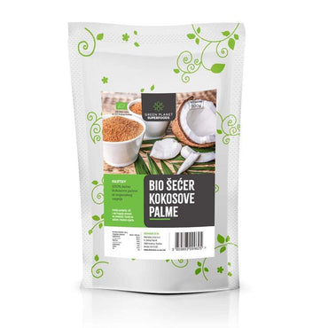BIO šećer kokosove palme Green Planet Superfoods 500g - Alternativa Webshop