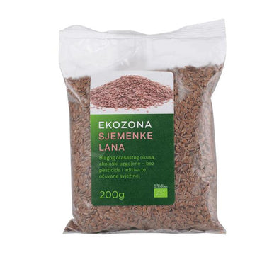 BIO sjemenke lana smeđe Ekozona 200g - Alternativa Webshop