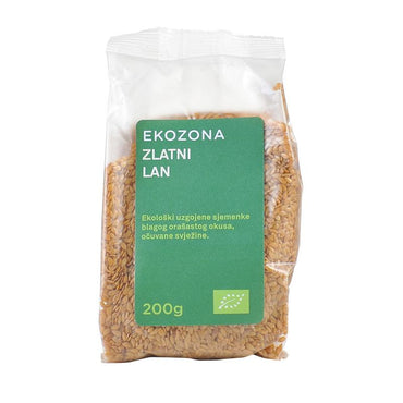 BIO sjemenke lana zlatne Ekozona 200g - Alternativa Webshop