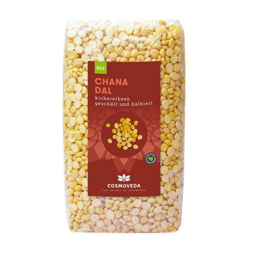 BIO Slanutak (Chana Dal) Cosmoveda 500g - Alternativa Webshop