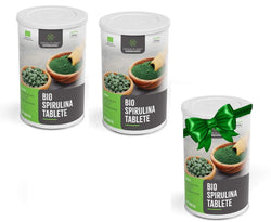 BIO spirulina tablete Green Planet Superfoods 400 kom  2+1 GRATIS - Alternativa Webshop