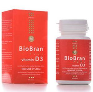BioBran s vitaminom D3 90tableta