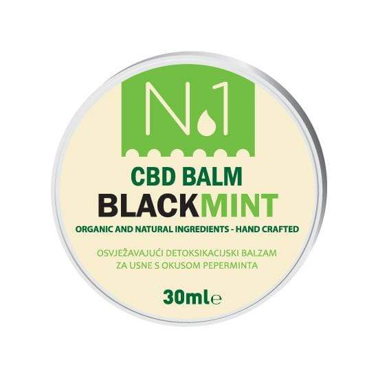 CBD balzam Black mint Nutri Oil 30 ml