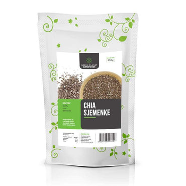 Chia sjemenke Green Planet Superfoods 250g - Alternativa Webshop