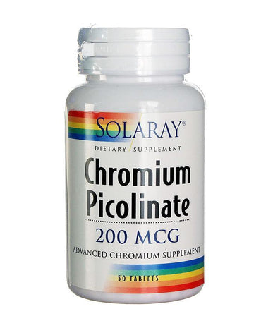 Chromium Picolinate Solaray 50 tableta