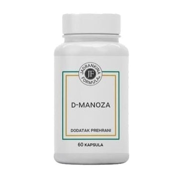 D-manoza 500 mg Jadrankina formula 60 kapsula - Alternativa Webshop