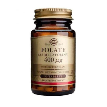 Folat 400mcg Solgar 50 tableta - Alternativa Webshop
