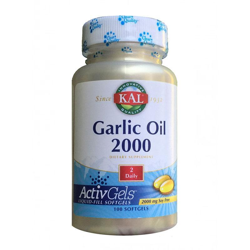 Garlic oil 2000 Kal 100 kapsula