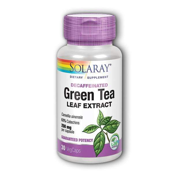 Green Tea Extract Solaray 30 kapsula - Alternativa Webshop