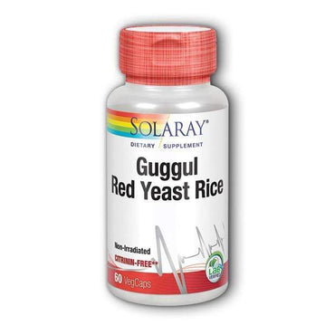 Guggul & Red Yeast Rice Solaray 60kapsula - Alternativa Webshop