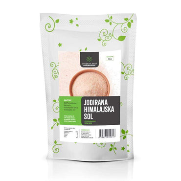 Himalajska sol sitna roza jodirana Green Planet Superfoods 1kg - Alternativa Webshop