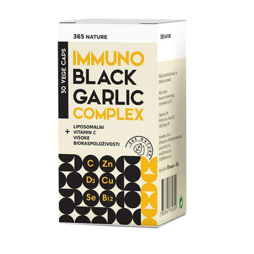 Immuno Black Garlic complex 365 Nature 30 kapsula - Alternativa Webshop