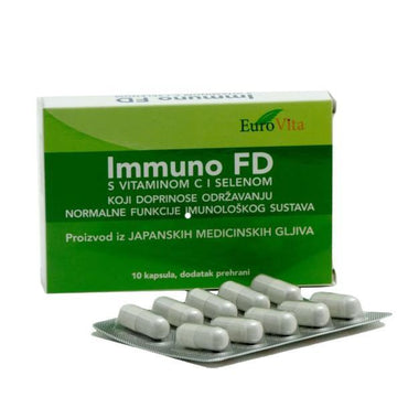 Immuno FD EuroVita 10 kapsula - Alternativa Webshop