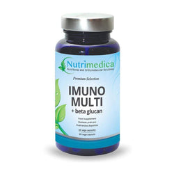 Imuno Multi + Beta Glucan Nutrimedika 60 kapsula - Alternativa Webshop