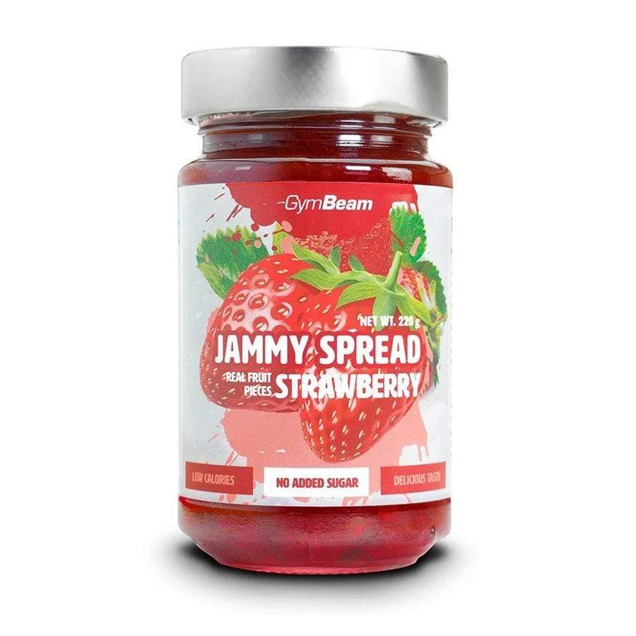 Jammy Spread Jagoda GymBeam 220 g - Alternativa Webshop