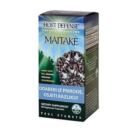 Maitake gljiva Host Defense 60 kapsula - Alternativa Webshop