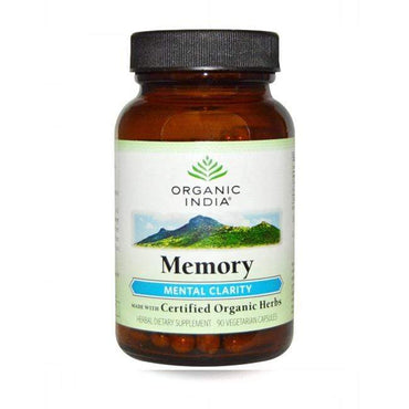 Memory Organic India 90 kapsula - Alternativa Webshop