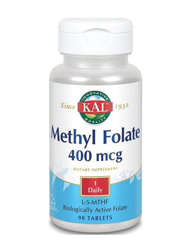 Methyl Folate 400 mcg Kal 90tableta