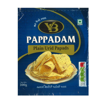 Papadam bez začina 200g - Alternativa Webshop