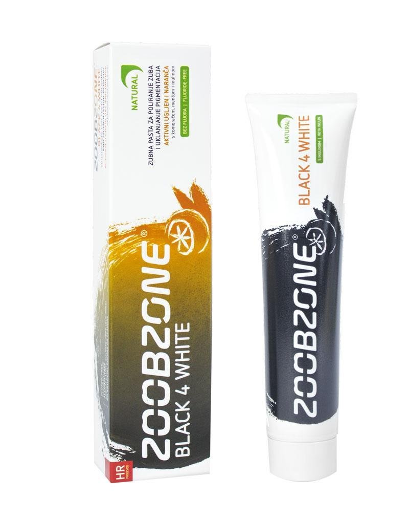 Pasta za zube Black4White ZoobZone 75ml