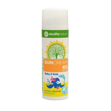 Prirodna krema za sunčanje Kids SPF 45 Ekolife Natura 50ml - Alternativa Webshop