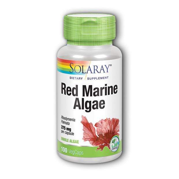 Red Marine Algae Solaray 100 kapsula - Alternativa Webshop