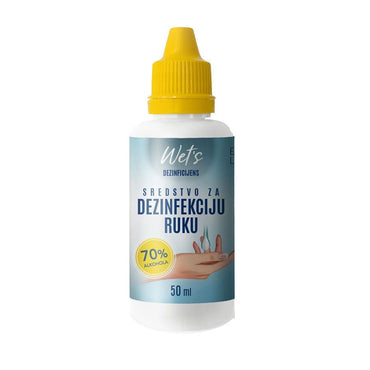Sredstvo za dezinfekciju ruku Wet's 50ml - Alternativa Webshop