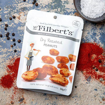 Suho pečeni kikiriki Mr. Filbert's 50g - Alternativa Webshop