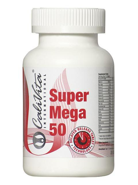 Super Mega 50 Calivita 90 tableta