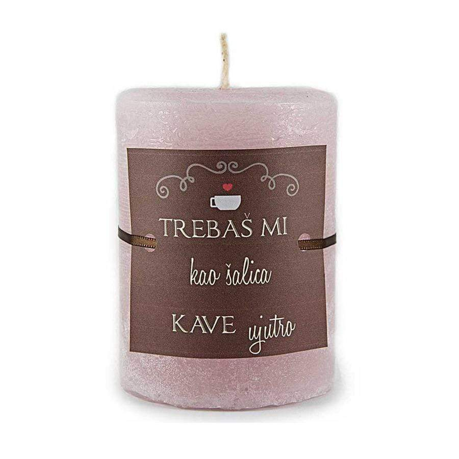 "Svijeća ""Trebaš mi"" Whisper of Nature - Alternativa Webshop"