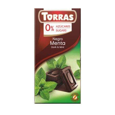 Tamna čokolada s mentom Torras 75g - Alternativa Webshop