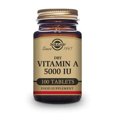 Vitamin A 5000 UI Solgar 100 tableta