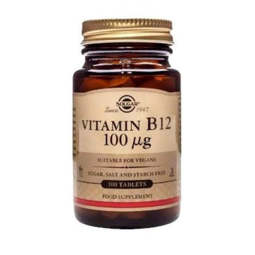 Vitamin B12 100 μg Solgar 100 tableta - Alternativa Webshop