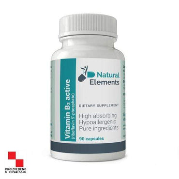 Vitamin B2 active Natural Elements 90 kapsula - Alternativa Webshop