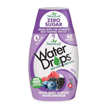 Water Drops bobičasto voće SweetLeaf 48ml